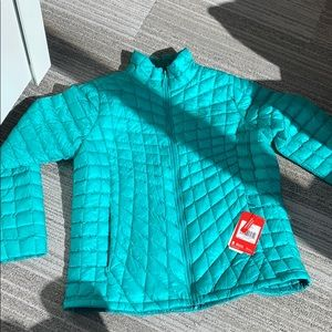 XXL The North Face Thermoball Jacket Teal NWT